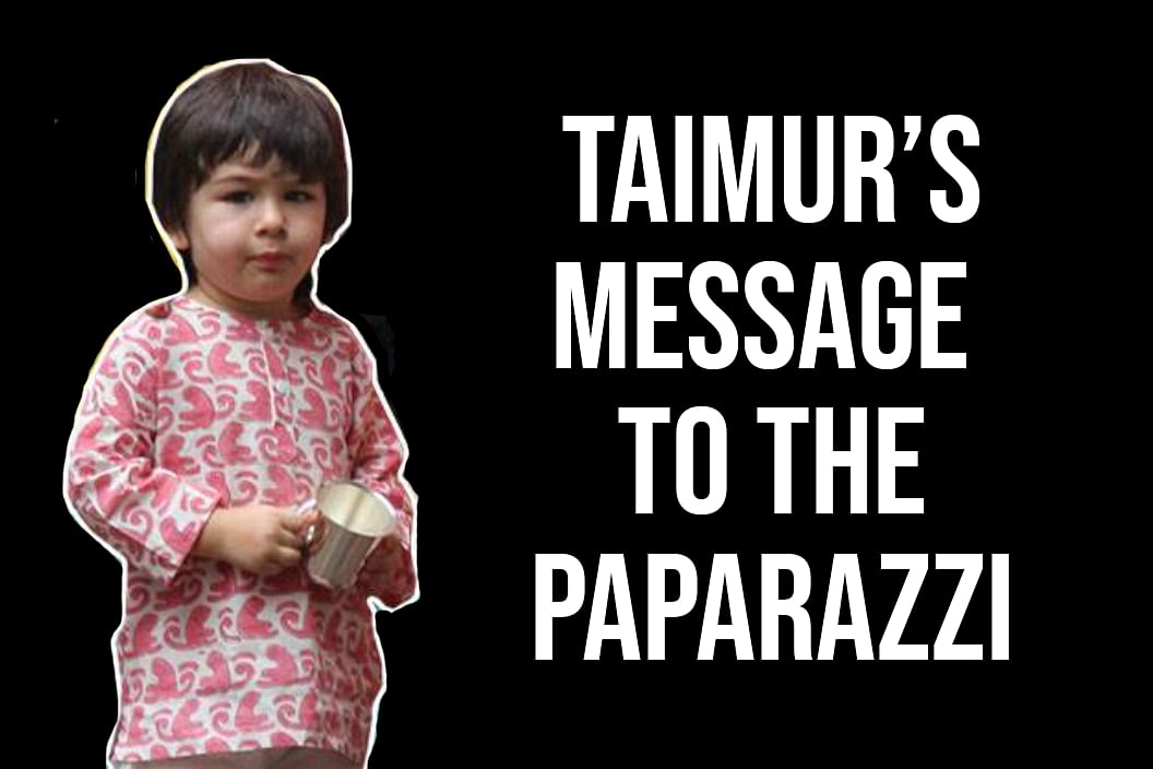 Watch: Taimur Has a Message for the PapsBut Are They Listening?