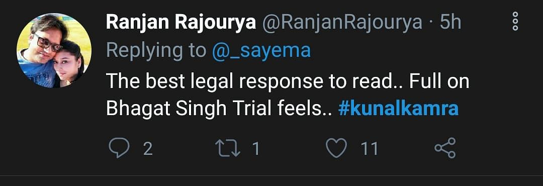 Twitter Divided on Kunal Kamra's Reply to SC's Contempt Notice