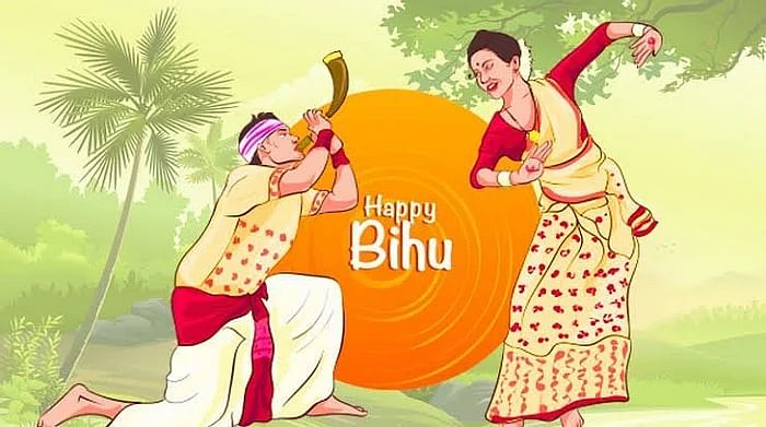 Happy Bihu images to share on Instagram