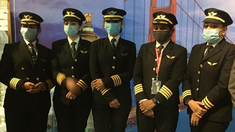 All Women Crew Land In Bangalore After Historic 17-Hr-Long Flight