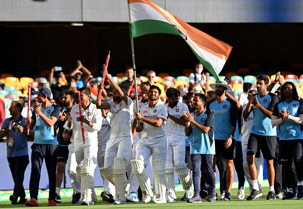 India became the first team to beat the Australians at the Gabba since 1988.
