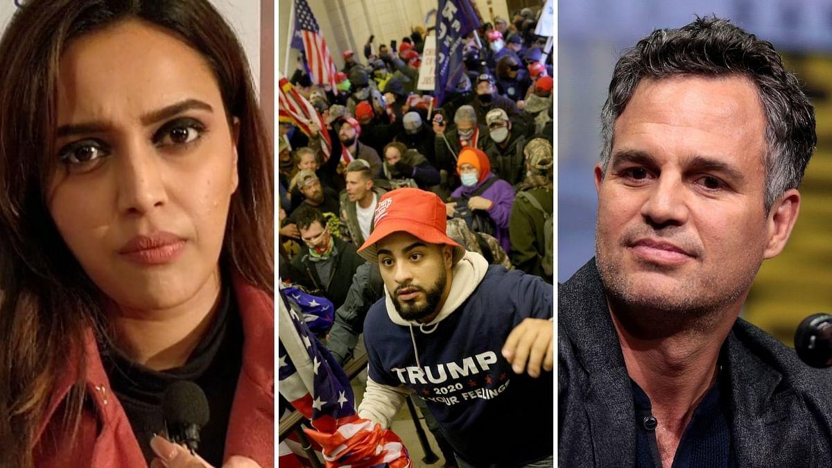 US Capitol Violence: Swara, Richa, Mark Ruffalo Express Shock
