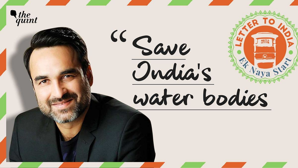 Pankaj Tripathi's Letter to India.