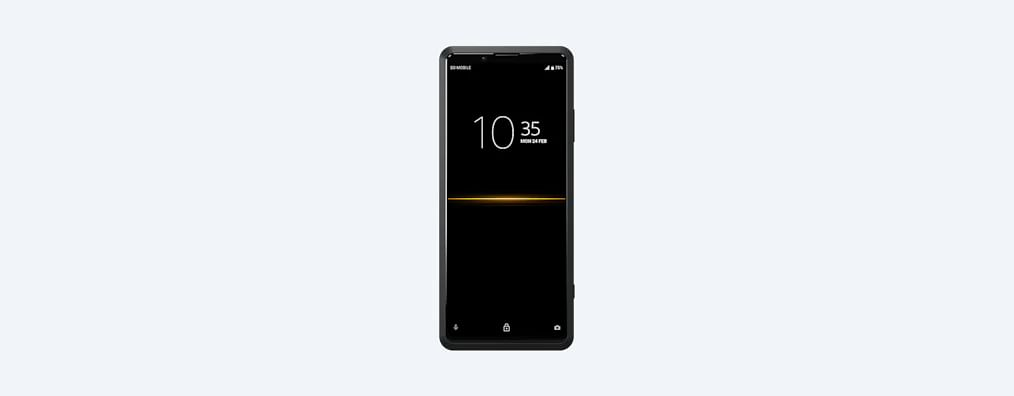 Sony's first smartphone with 5G support. Priced in the US for $2,499.99