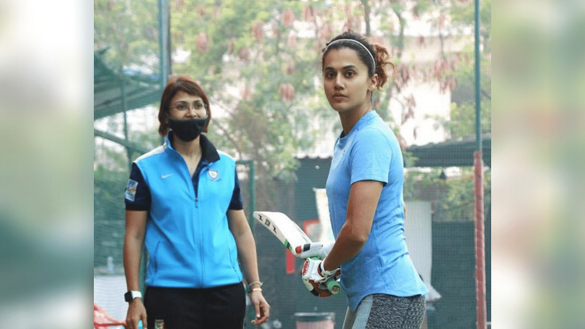 Taapsee Pannu Begins Cricket Training for 'Shabaash Mithu'