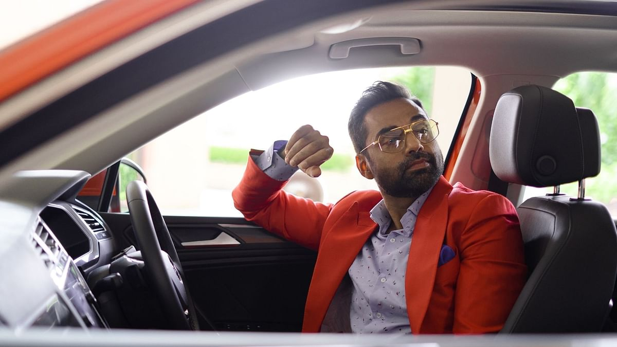 Abhay's life #FitsAll kinds of passions and that's why he and the Tiguan Allspace are made for each other