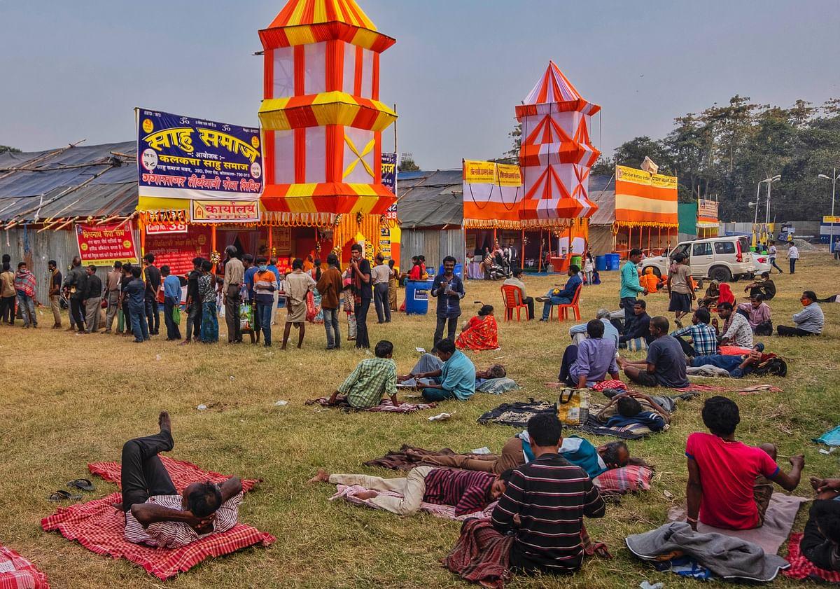 The <i>Gangasagar Mela </i>this year