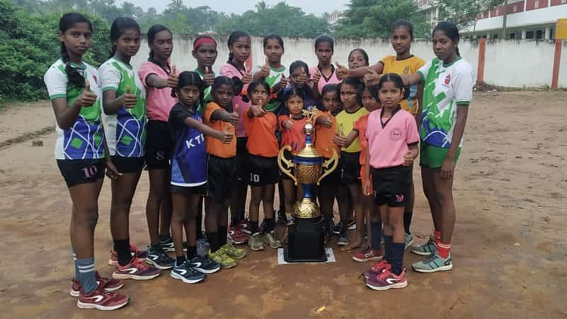 Thanks to you all, the kabaddi girls team from Koovathur, Tamil Nadu is traveling across the state winning laurels.