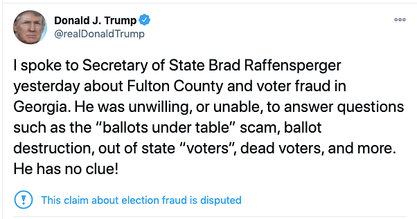Trump Caught on Tape Urging Georgia Official To 'Find' Votes