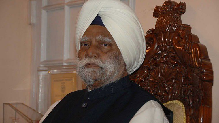 Buta Singh served as Union Home Minister from 1986 to 1989 under then Prime Minister Rajiv Gandhi.