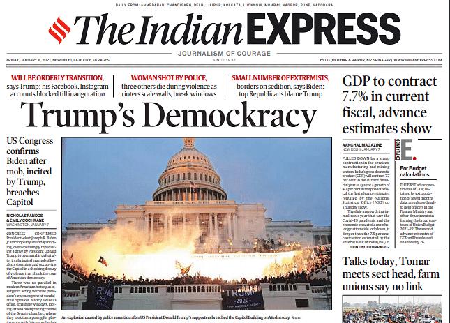 The Indian Express: Trump's Demockracy