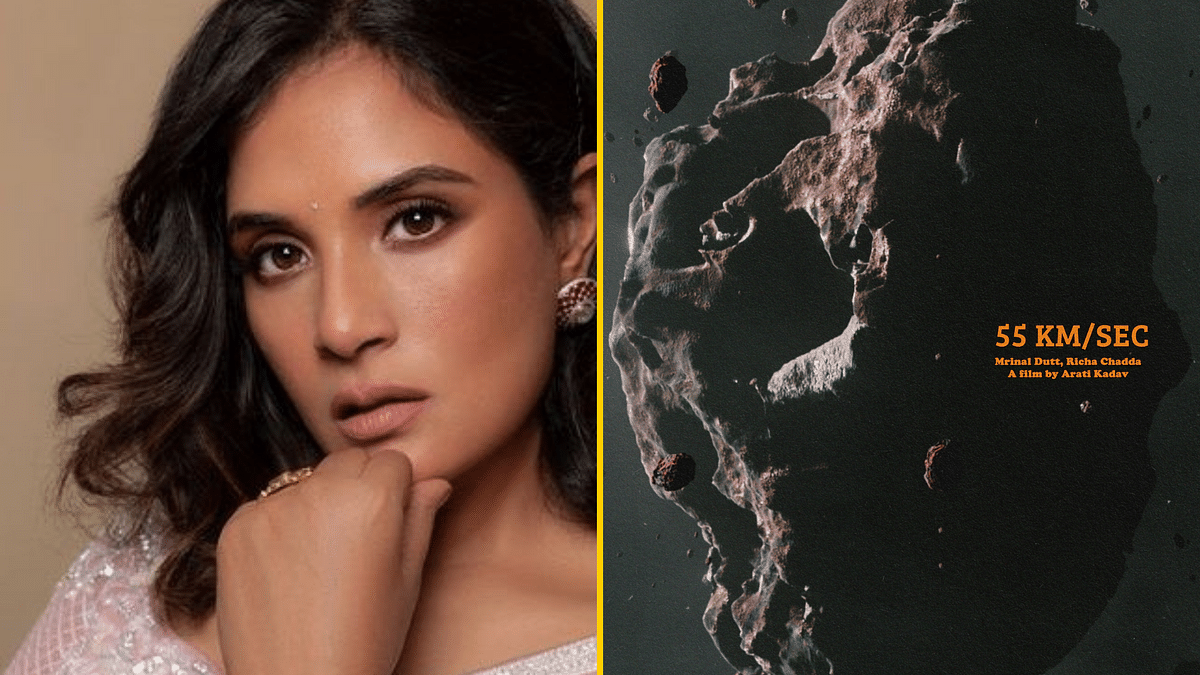 Richa Chadha stars in sci-fi short film <i>55 km/sec</i>.