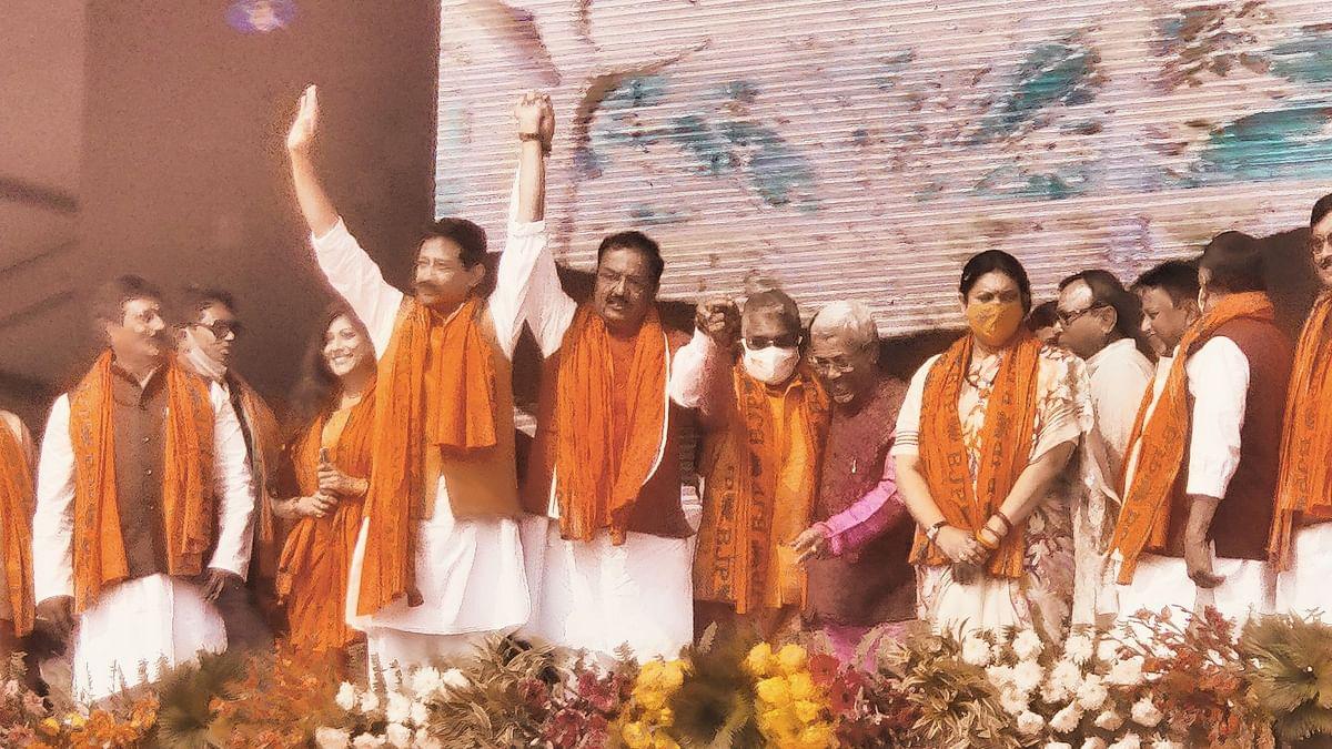 Shah & Irani Address Rally in WB's Howrah; TMC Turncoats Present