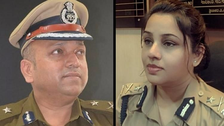 The officers D Roopa and Hemant Nimbalkar had exchanged many allegations over the Safe City project and at each other.
