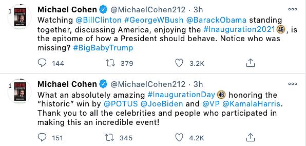 Netizens react to Biden-Harris' inauguration