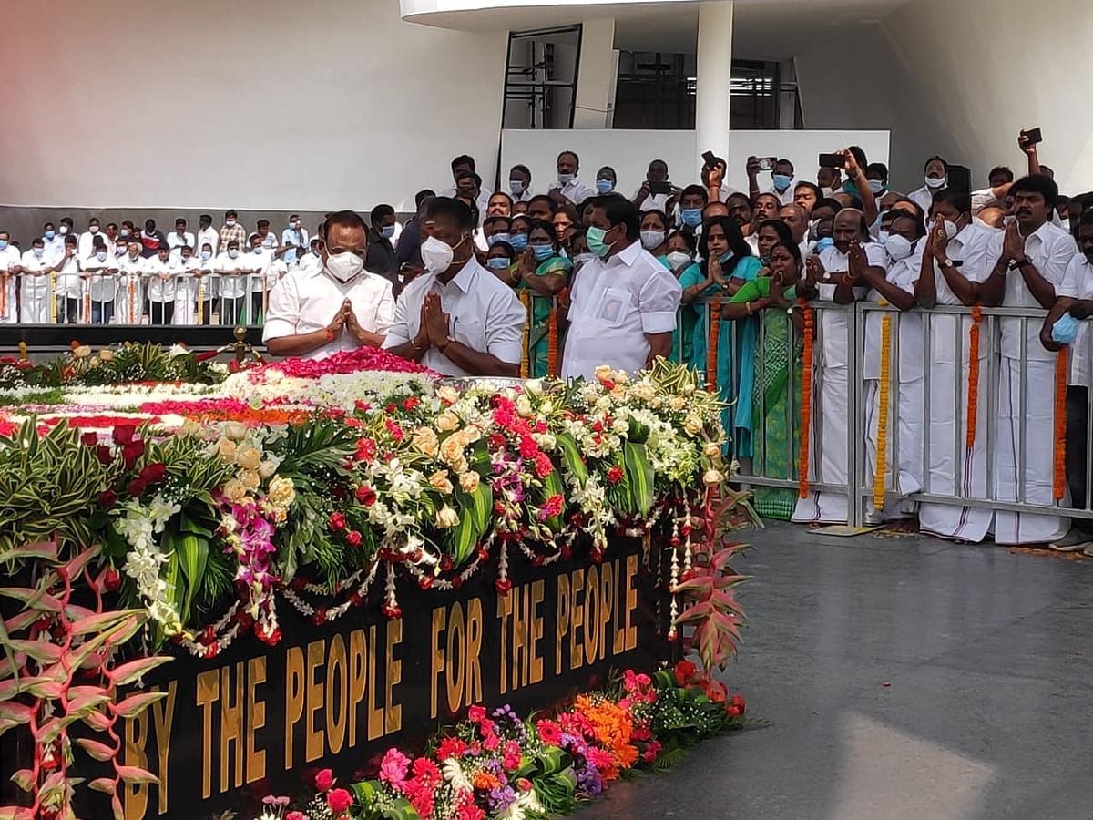 The 80-crore phoenix-themed memorial was inaugurated on Wednesday.