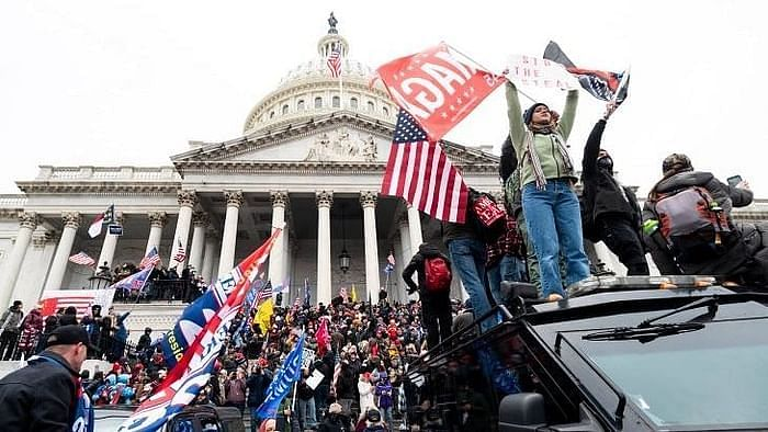 Pro-Trump protesters stormed the US Capitol on Wednesday, 6 January. When the incident took place, members of the US Congress were reportedly meeting to certify President-elect Joe Biden's win.
