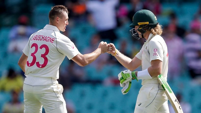Will Pucovski and Marnus Labuschagne scored fifties on Day 1 at SCG.