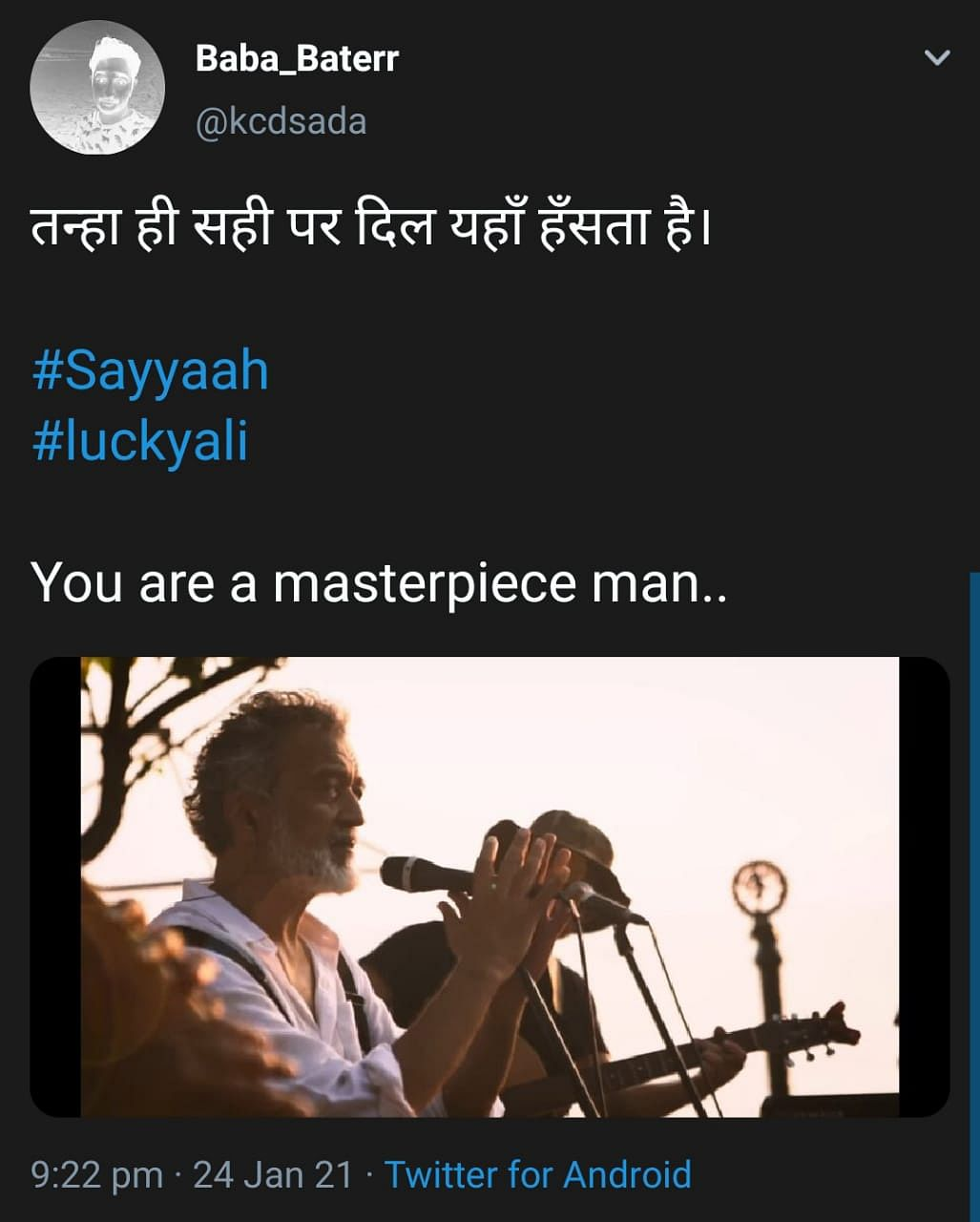 Lucky Ali Sweeps the Internet With a Heartfelt Rendition of Sayyah