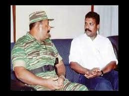VCK's Thirumavalavan with LTTE's Prabhakaran