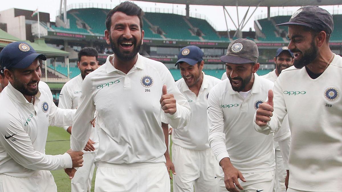 Virat & Team India Celebrate Pujara's Birthday on Social Media
