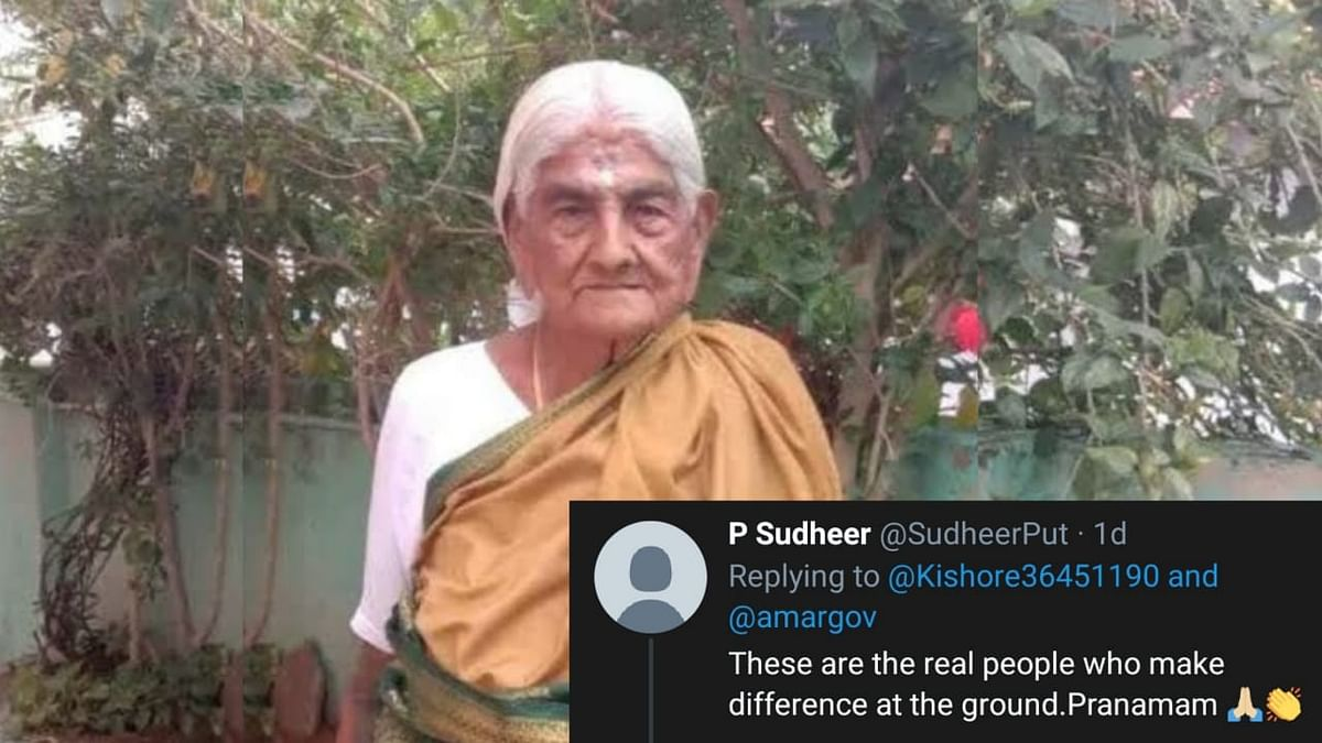 105-Year-Old Organic Farmer Recieves Padma Shri Award