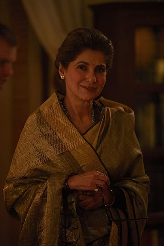 Dimple Kapadia's performance in  <i>Tandav</i> is engaging but her character is relegated to the sidelines.