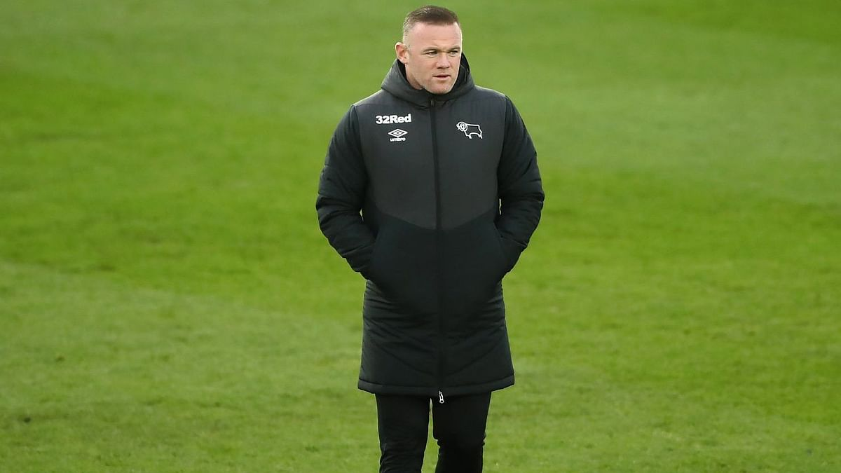 Former England captain Wayne Rooney has taken over as full-time manager for Derby County.