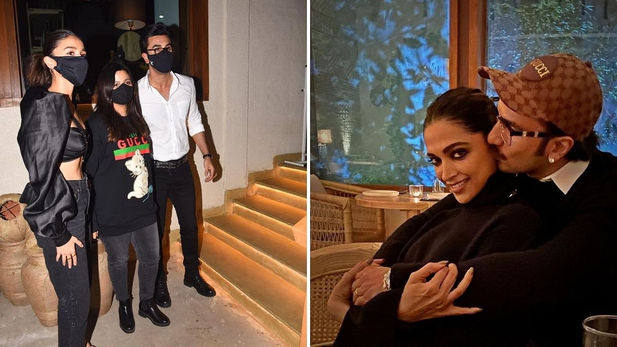 Pics: Ranbir, Alia, Shaheen, KJo Attend Deepika's Birthday Bash