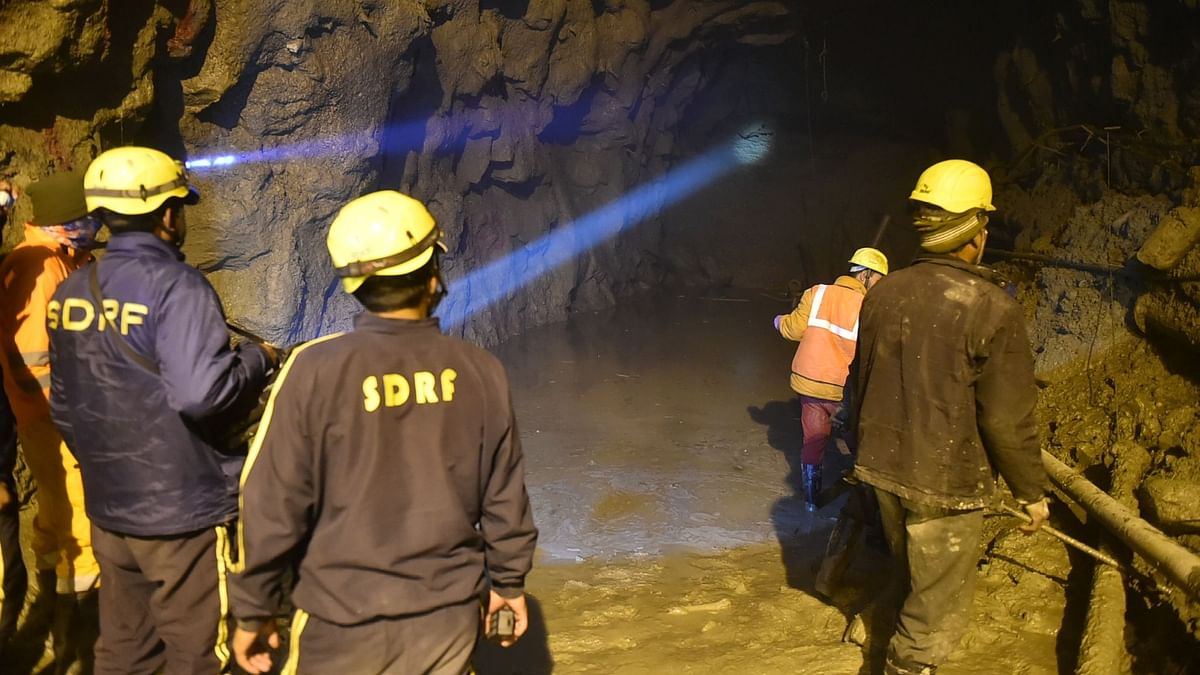 Chamoli Disaster: 166m of Tapovan Tunnel Cleared; Death Toll at 62