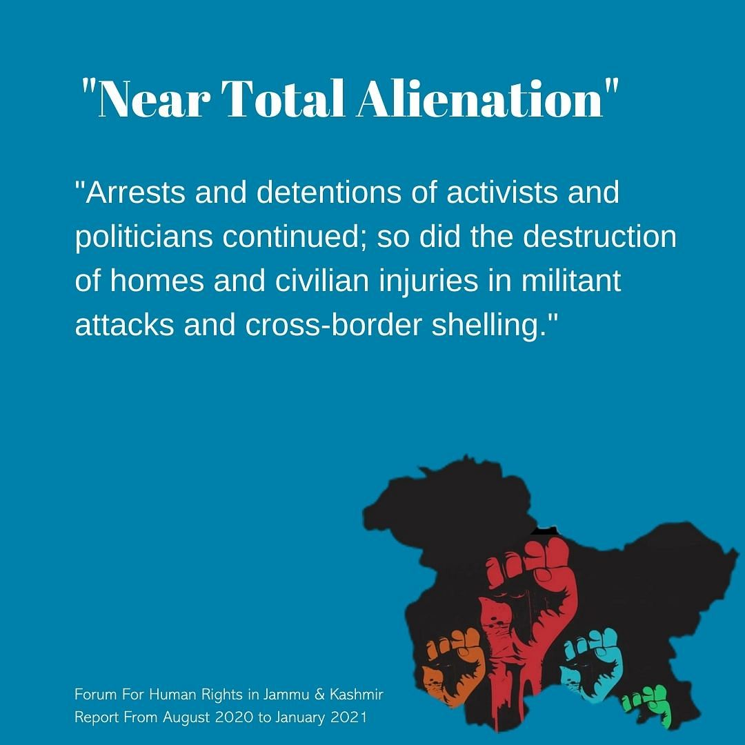 Human Rights Report Shows Worrying Trends in Post-Lockdown Kashmir