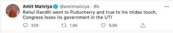 Politicians react to Puducherry government collapse