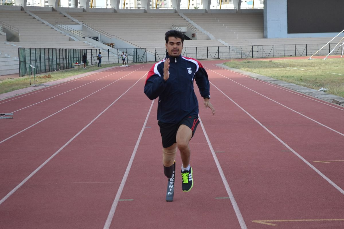 Manish Pandey, International Para Athlete.