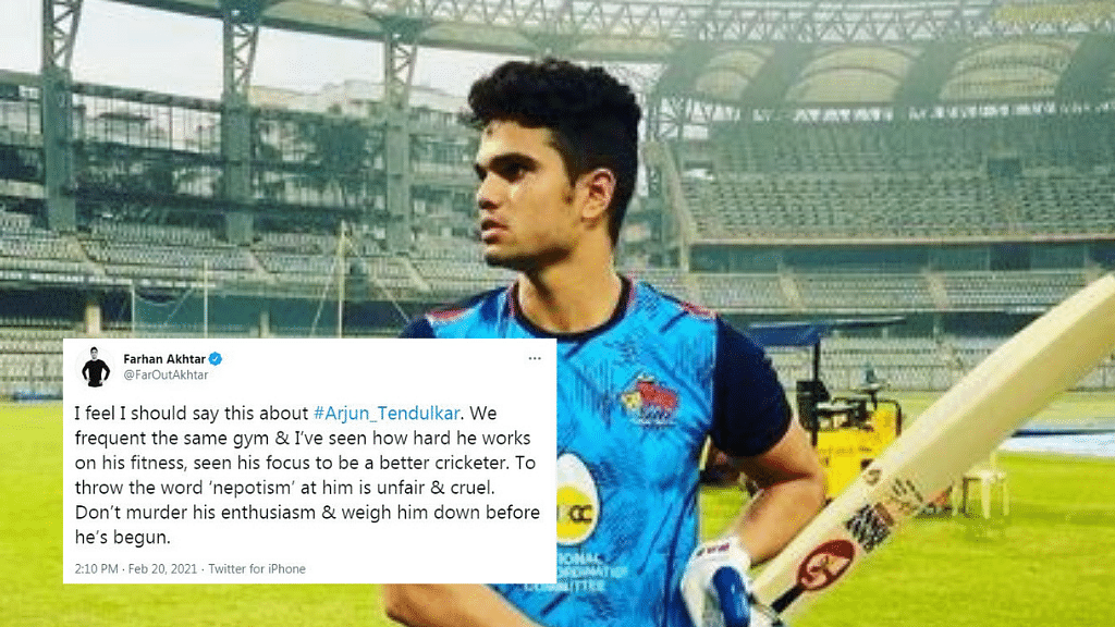 Don't Murder His Enthusiasm: Farhan Akhtar Backs Arjun Tendulkar