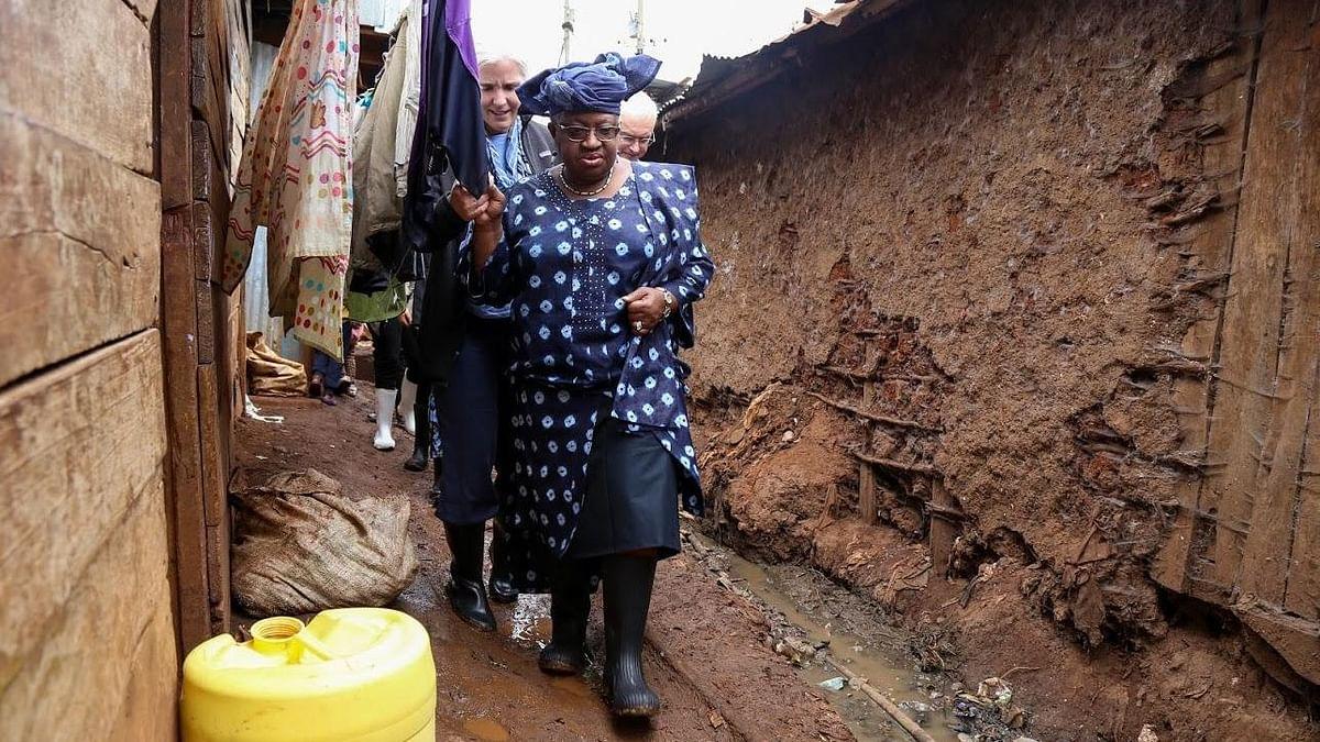 Dr Ngozi Okonjo-Iweala on her visit to Kibera – Africa's largest urban slum.