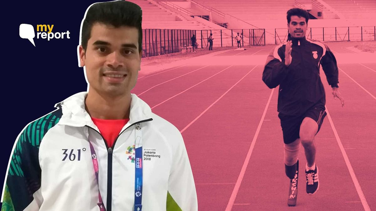 Manish became the first amputee leg in India to get a Bachelor's degree in sports.
