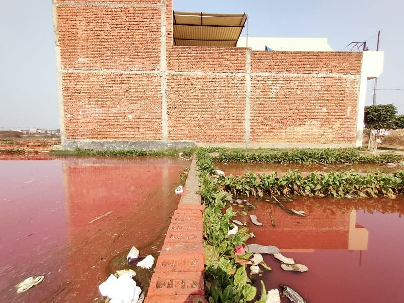 Unfinished Drain, Polluted Water Irks Locals in Meerut's Shobhapur