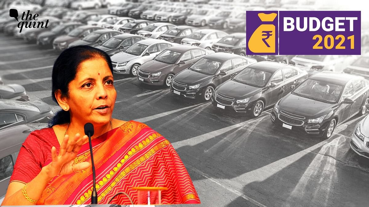 Budget 2021: FM Sitharaman Announces New Vehicle Scrappage Policy