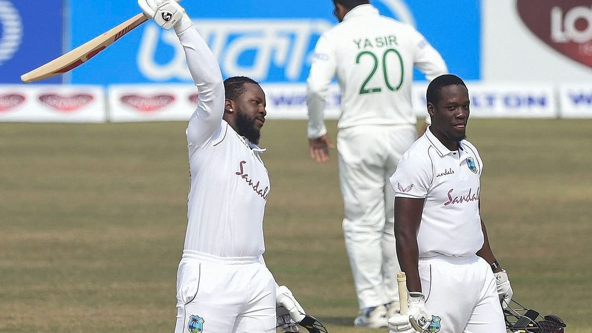 Debutant Kyle Mayers' 210 helped West Indies pull off their highest successful run-chase in Asia.
