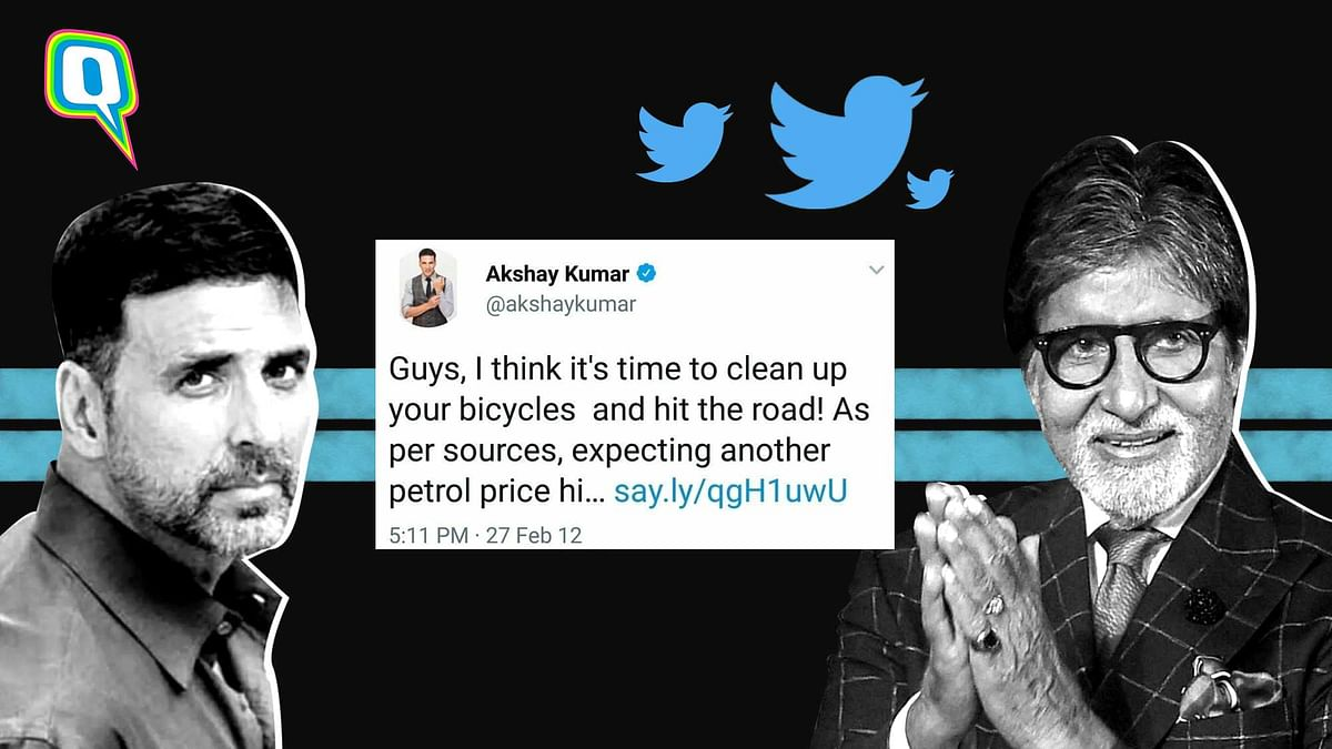 <p>Hey celebs, where are all the jokes about fuel price hikes now?</p>