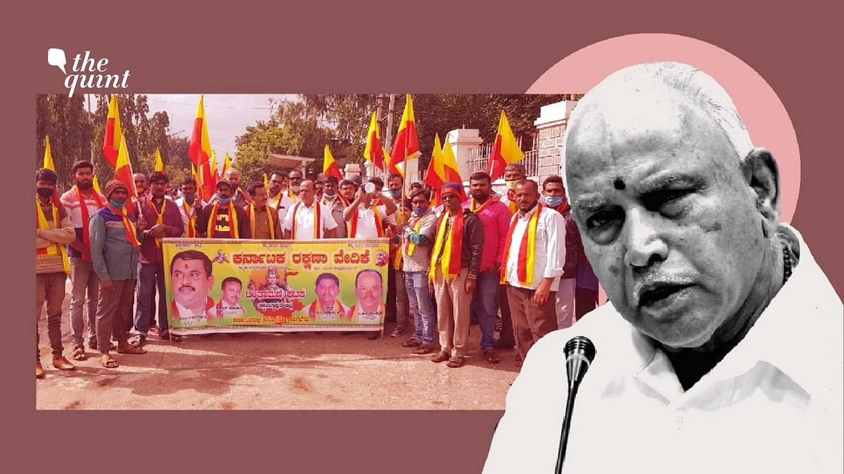 BJP in Karnataka is facing stiff opposition from a right-wing cultural outfit over the farm laws and farmer protests.