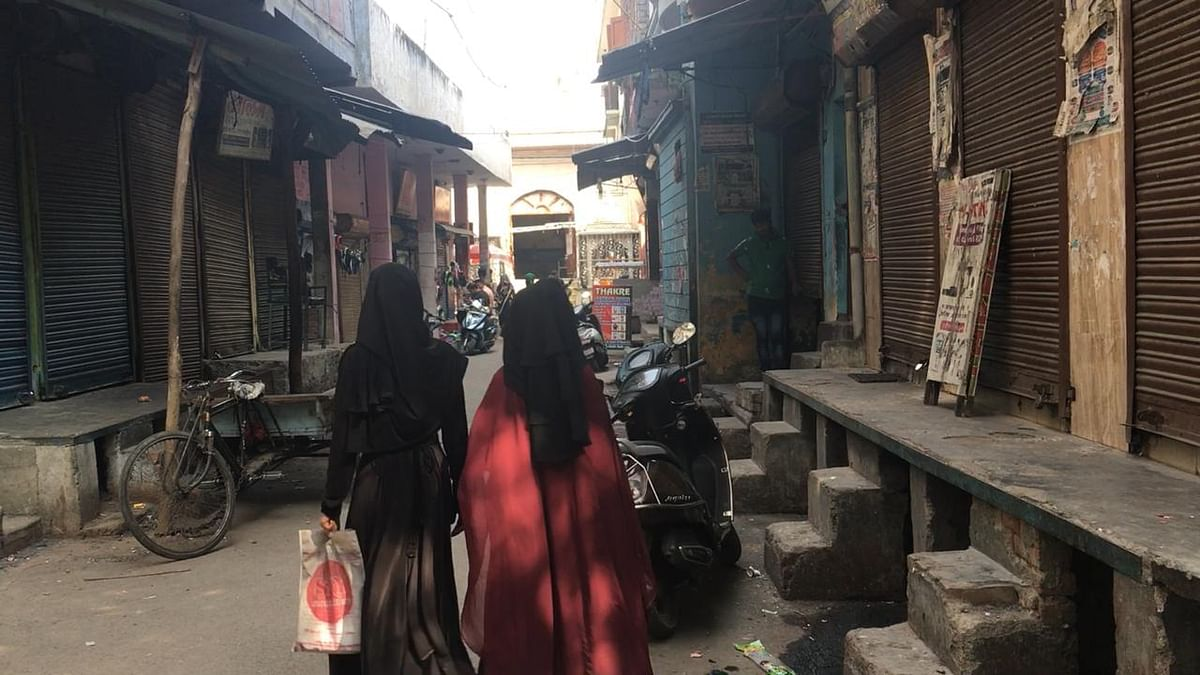 We struggled to speak to Muslim men who wanted to talk on camera, or even on an audio recording, about the impact of this Ram Mandir campaign.