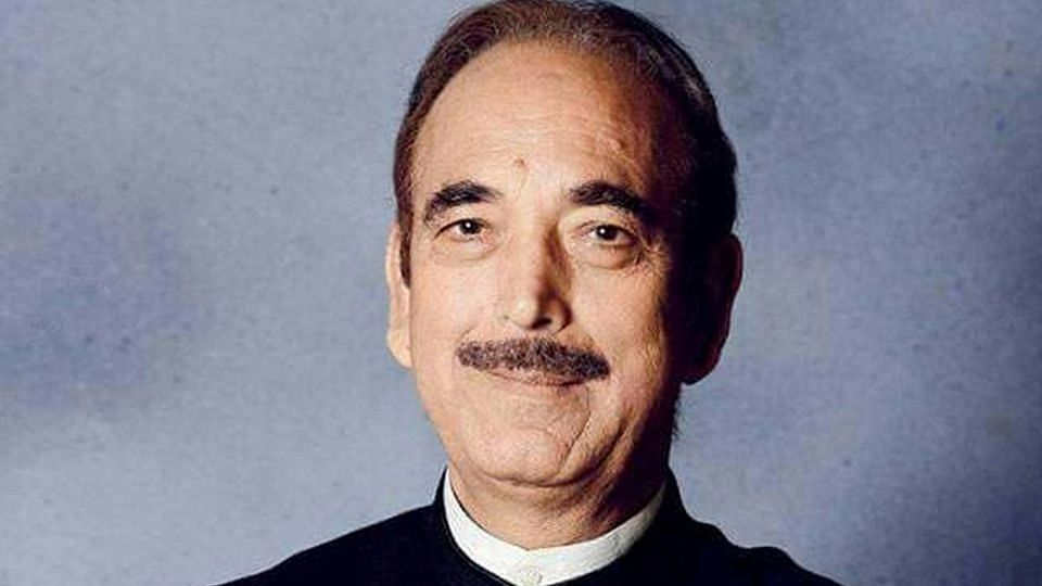 Congress MP Ghulam Nabi Azad.