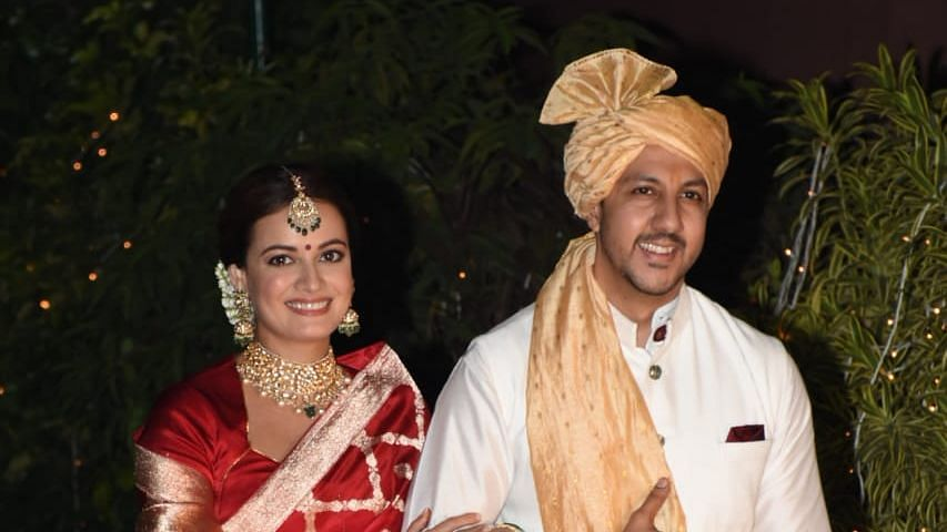First Pics of Newlyweds Dia Mirza & Vaibhav Rekhi Are Here
