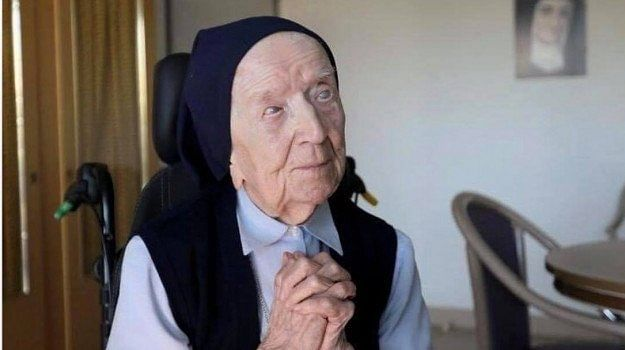 117-years-old French nun, Sister André, beats COVID-19 with no complications while gearing up for her birthday.