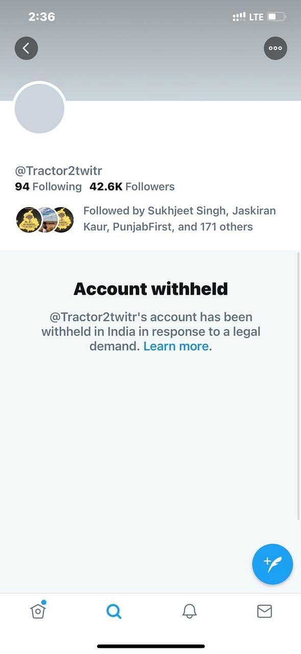 Caravan, Kisan Ekta Morcha Twitter Pages Back After 6-Hr Blackout