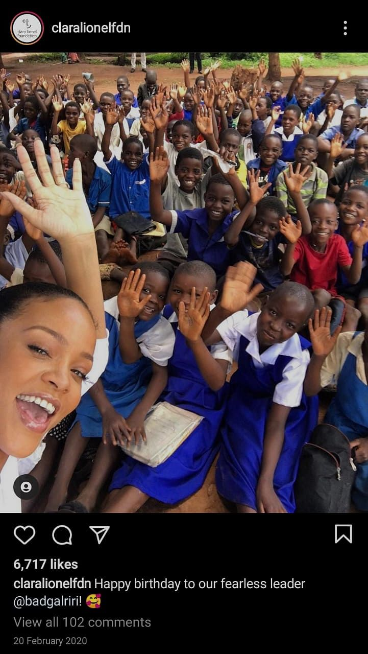 All the Times Rihanna Extended Her Support to 'External Matters'