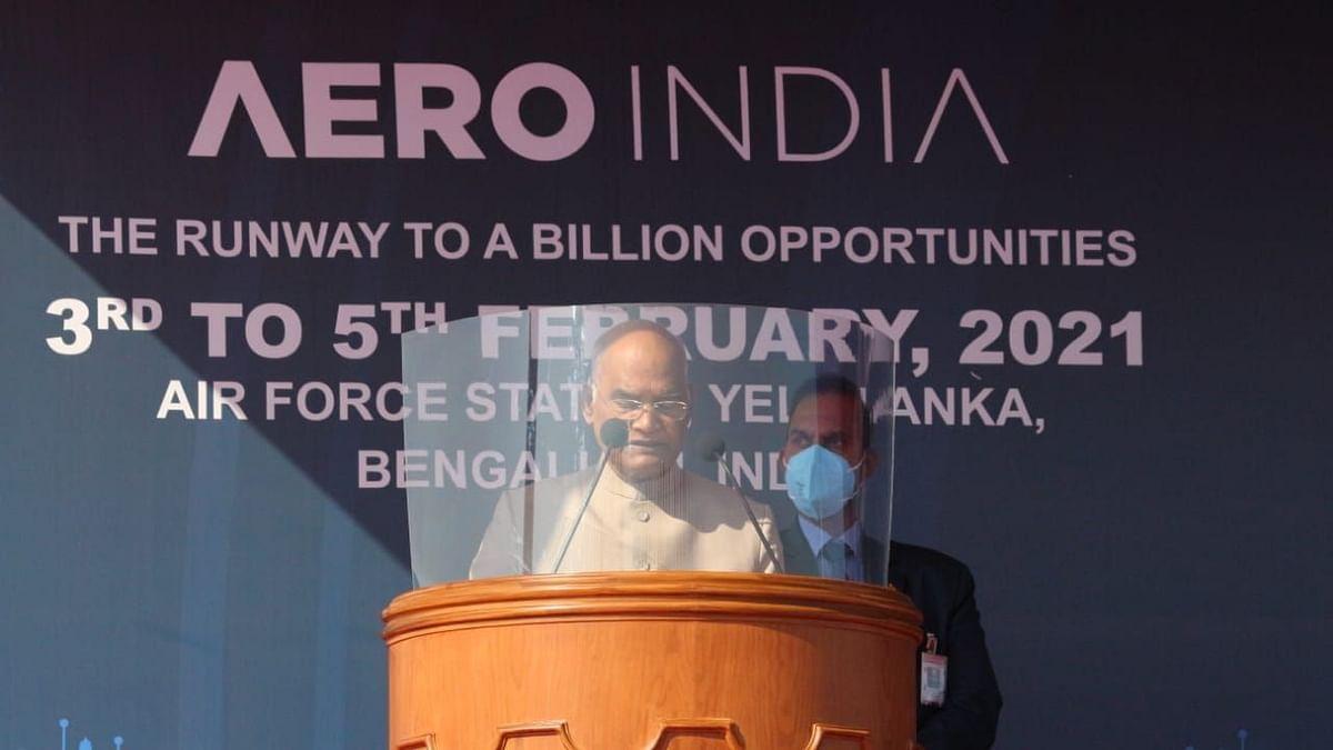 Aero India 2021 an 'Unprecedented Success': President Kovind