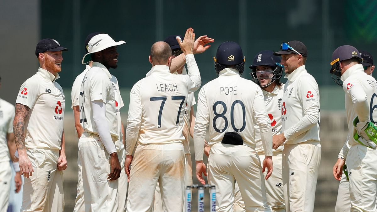 """England have beaten India 227 runs to win the Test series-opener.<a href=""""https://www.espncricinfo.com/series/england-tour-of-india-2020-21-1243364/india-vs-england-1st-test-1243384/live-cricket-score""""></a>"""