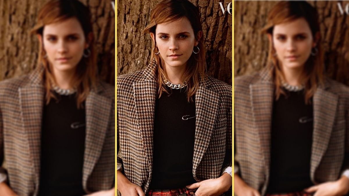 "<div class=""paragraphs""><p>Emma Watson addresses rumours of her engagement.&nbsp;</p></div>"